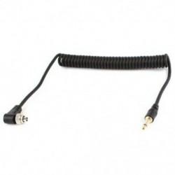 3,5 mm-es hím PC Flash Sync kábelcsavarzár a Trigger Studio Light S1D6 készülékhez