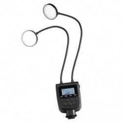 Makró LED gyűrűs vakufényszóró SpeedLight ML-2D Nikon Olympus H3H3 fényképezőgépekhez