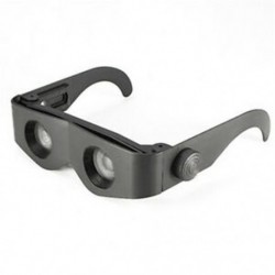 2X (Fekete hordozható szemüveg stílusú távcső nagyító távcső az L3C7 halászatához