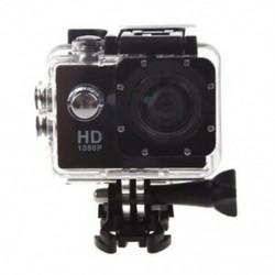 Action Sport kamera kamera vízálló HD videó sisak cam bicikli sisak Action D A4S5