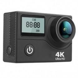 2X (AUSEK kettős képernyő vékony 4K sportkamera wifi 2.4G távoli vízálló ou J7T7