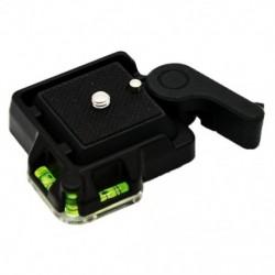 Új gyorskioldó lemez a Giottos MH630 fényképezőgép-tartóhoz MH7002 630 5011 (Blac W8F6