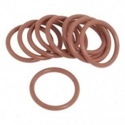 1X (10 PCS 35 mm OD 3,5 mm vastagságú piros szilikon O-gyűrűk olajtömítések tömítőgyűrű L8W7)