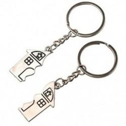 2 db ház alakú mágneses kulcstartó kulcstartó szerelmeseinek B5L5