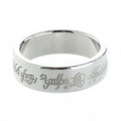 1 x mágneses gyűrű gyűrűk Varázslat mágnes gyűrű varázslat Magic Trick ezüst színű R6F3