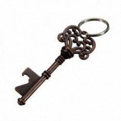 Antik kulcstartós sörüveg-palack-nyitó bár eszközkészlet esküvői kulcstartó V0L2