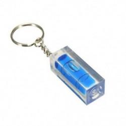 Kék - Mini vízmérték DIY készülékek kulcstartó kulcstartó eszköz kulcstartó vízmérték c @ G8M2