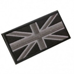 FASHION Union Jack UK zászlójelű javítópálca vissza 10cm x 5cm ÚJ, (fekete / Gr A4G7