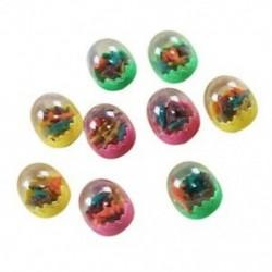 1X (1 pár színes rajzfilm dinoszaurusz tojás alakú radírok ajándéka a P3Y7 gyermek számára)