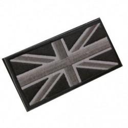 FASHION Union Jack UK zászló jelvény javítópálca vissza 10cm x 5cm ÚJ, (fekete / Gr P6H7