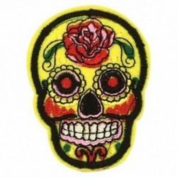 1X (8 db cukor koponya vas be / varrni ruhával javítás jelvény Mexikóban a holtak napja A I3B7