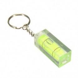 Zöld - Mini vízmérték DIY készülékek kulcstartó kulcstartó eszköz kulcstartó vízmérték BV