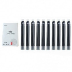 fekete - 1X (10 db JINHAO X450 hosszúságú, 5,2 cm-es F6F3 tinta)
