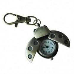 Bronz tónusú fém katica madár alakú medál kulcstartó N3D9 N5W0