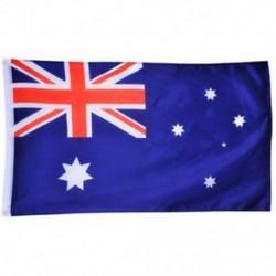 Ausztrál zászló - Nagy 90x150cm méretű 5 X 3FT zászlók zászló dekoráció TG