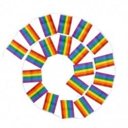 5M leszbikus béke Lgbt Rainbow Gay Pride támogatói zászlók Színes Fesztivál U3N3