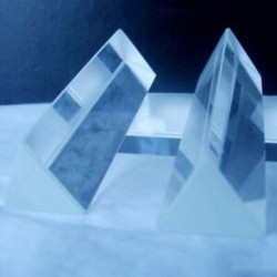 Precíziós optikai üveg fizika oktatása Prizma. K9U9