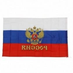 90 * 150cm-os függő orosz zászló Nemzeti zászló P5O2