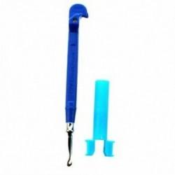 2X (Mini fém kampó (fém kötőtű) (kék) Z2E5)