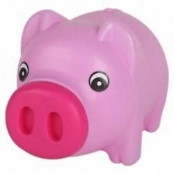 1X (Rajzfilm aranyos sertés érme összeomlott érmedobozban ajándék gyerekek pénzt takaríthat meg pénzt Savi U8J3