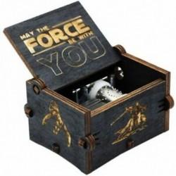 Új, a Black Star Wars zenei dobozos játék, a trónok kastélya az égen, kézifutó O1J6