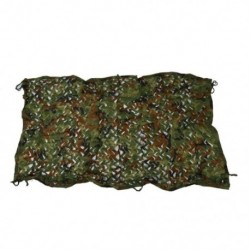1X (1mx2m 39 * 78 &quot Woodland Camouflage Camo Net Cover Cover Hunting Shooting Camping V4W7