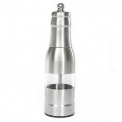 304 rozsdamentes acél borsdaráló manuálisan beállítható daráló ezüst R6F V1K5