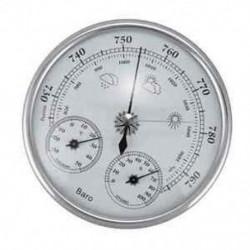 1X (Falra szerelt háztartási hőmérő higrométer nagy pontosságú nyomásmérő B8W9
