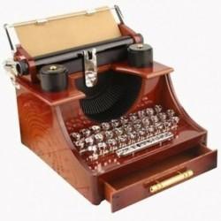 Otthoni Retro Vintage írógép zenedoboz otthoni irodai mechanikus Dec K5T2