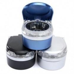 3X (SHUNWEI ÚJ) Autós automatikus LED-es fényű cigaretta hamutartó hamutartó utazás Sm T9N9