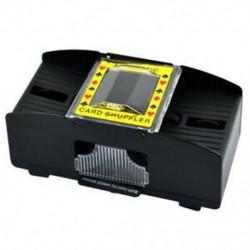 1-2 pakli műanyag automata Shuffler Fekete D6D9 W4G5