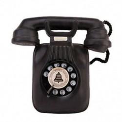 Vintage telefonmodell falikar, retro nosztalgikus kézműves otthoni telefon Mini N5Y1