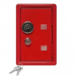 Piros - Kreatív Piggy Bank Mini Atm Pénztár Jelszó Digitális Érmék Készpénzbetét E0A1