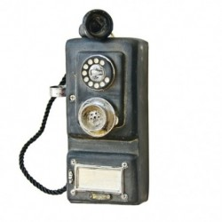 2X (falra szerelhető, vintage telefon-nosztalgikus kézműves szüreti, régimódi Wa F7N4 kézműves