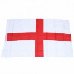 6X (2xEngland (St George) zászló 5 láb x 3 láb J5X5)