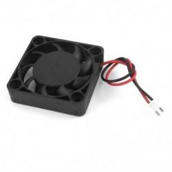 1X (DC 12V 0.1A 2 tűs PC tok CPU hűtőventilátor 40 mm x 40 mm x 10 mm M2N1)