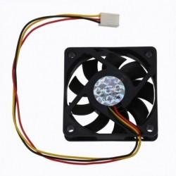 1X (CPU ventilátor hűtőventilátor 60 x 60 mm-es dobozos számítógép - fekete Q5H2)