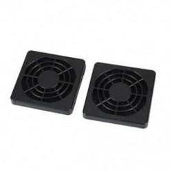 1X (2 db pormentes porszűrő-védő rácsos burkolat az 50 mm-es PC tok M1K1 ventilátorához)