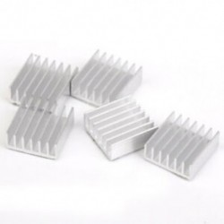 1X (5 x hűvösebb 14 x 14 x 5 mm-es alumínium radiátoros grill málnás pite / az FP Y4W2-hez