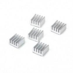 1X (5 x hűtőborda 8 x 8 x 5 mm alumínium hűtőbordák az U2B5 nyomtató léptetőmotorhoz)