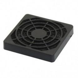 3X (PC számítógép fekete műanyag pormentes, szűrhető 40 mm-es ventilátor szűrővédő Y5N3)