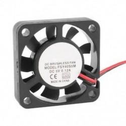 40 mm x 10 mm 0,12A 2Pin 5 V DC kefe nélküli hüvelyes csapágy hűtőventilátor R2W3