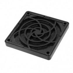 Fekete műanyag négyzet alakú, pormentes szűrő, 80 mm-es PC tok, ventilátor porvédő háló, BT P8X1
