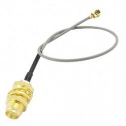 1X (SODIAL (R) U.FL IPX és SMA női pigtail-kábel 1,13 mm közötti, az F6X1 WiFi hálózathoz)