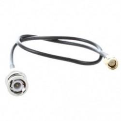 12.8 &quot -es RF Pigtail kábel SMA dugasz és BNC dugasz adapter J3J1 csatlakozója