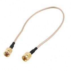 1X (12 hüvelykes RP-SMA aljzat RP SMA aljzathoz, RF pigtail kábel RG316 C3P4)