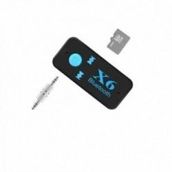 1X (Vezeték nélküli Mini 4.1 EDR Bluetooth Aux audio vevő adapter, 3,5 mm-es Handsfr O5E3.)