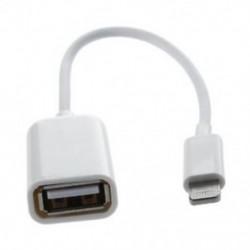 Kamera csatlakoztatási készlet dokkoló csatlakozója az USB OTG adapterkábelhez az iPad 4 K2 X6D3 készülékhez