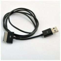 2X (USB töltő kábel és adatkábel az ASUS Eee Pad Transformer TF101 TF2 G8T1 készülékhez