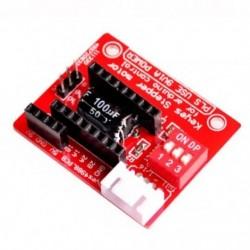 1X (3D nyomtató A4988 Drv8825 léptetőmotor vezérlőkártya bővítőkártya V2C1)